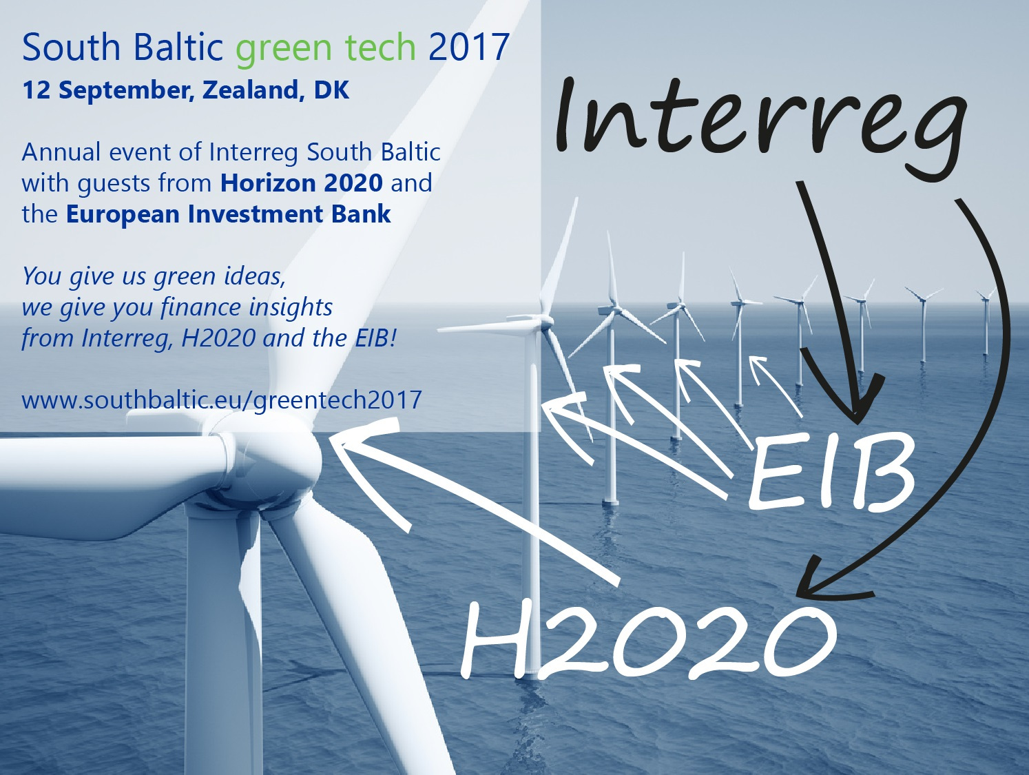 South Baltic green tech event 2017, 12 September, Roskilde University, Denmark