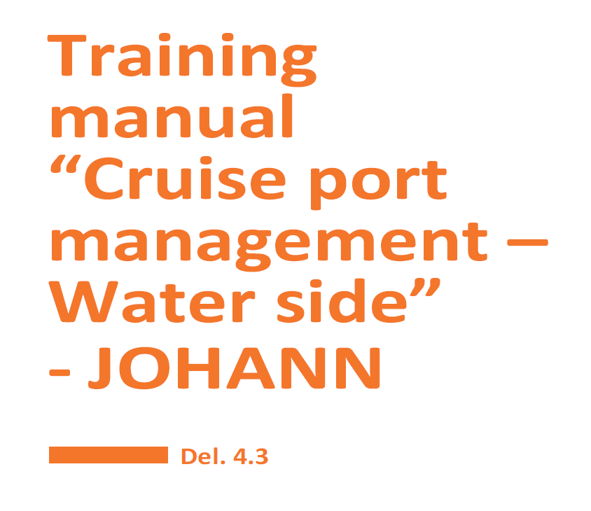Training Manual Cruise Port Management - Water Side for download