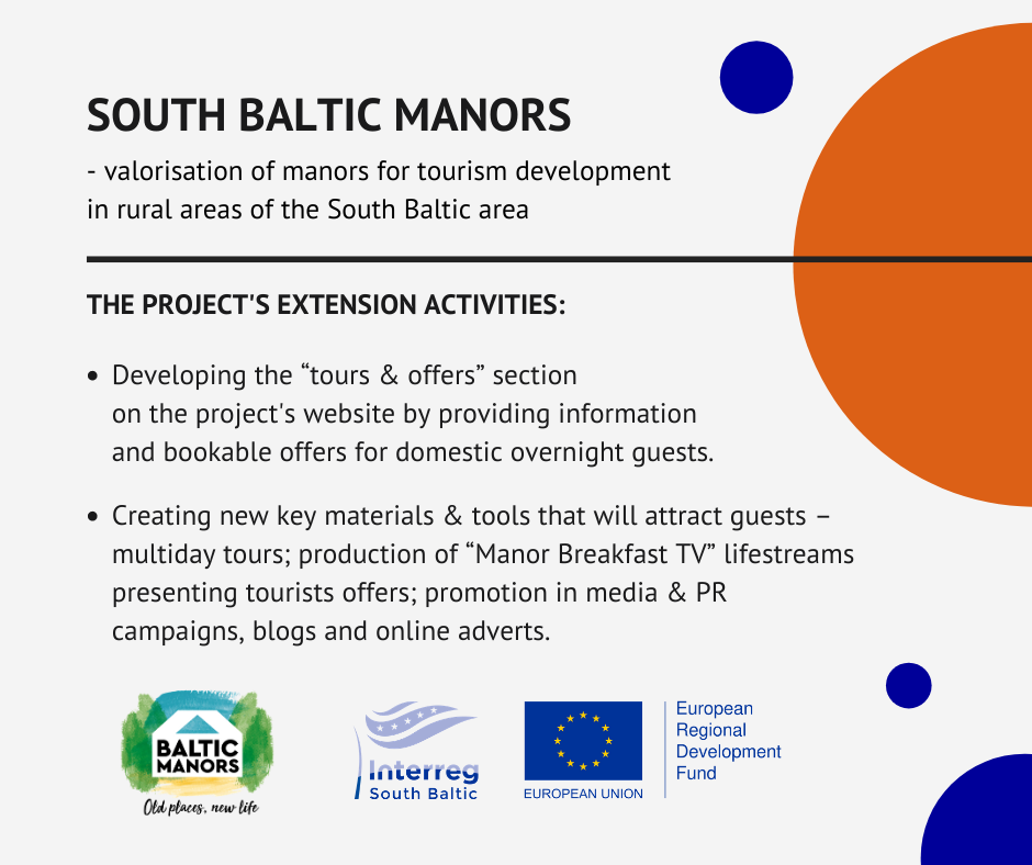 graphic with project's and programme's logos consisting information from the article